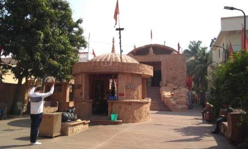 Temple corridor at Maa Vaishno Shakti Dham.