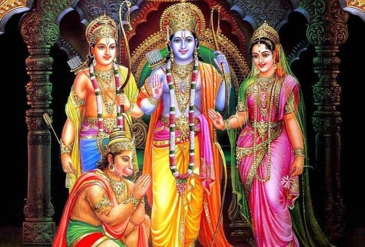 Ram Navmi celebration at Maa Vaishno Shakti Dham Mandir, Surat.