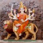 Image of Maa Vaishno devi idol.